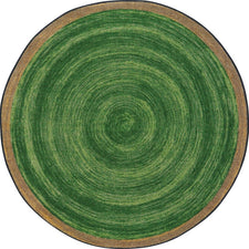 "Feeling Natural™ Pine Classroom Carpet, 5'4"" Round"