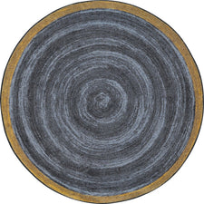 "Feeling Natural™ Slate Classroom Carpet, 7'7"" Round"
