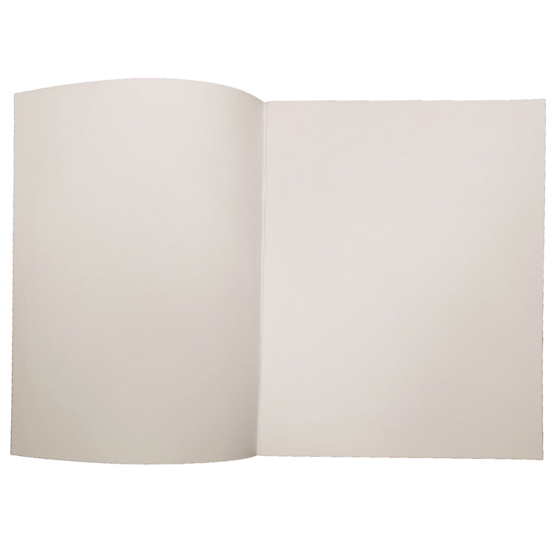 "Soft Cover Blank Book, 7"" x 8.5"" Portrait (12 Pack)"