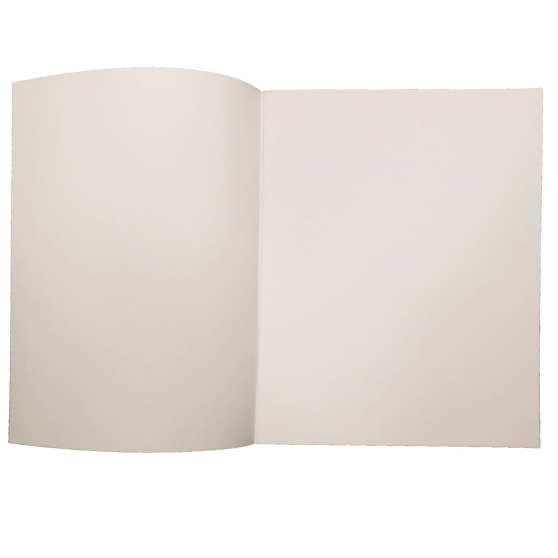 "Soft Cover Blank Book, 8.5"" x 11"" Portrait (12 Pack)"