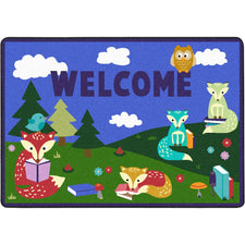 "Foxy Readers™ Classroom Mat, 2'8"" x 3'10"" Rectangle"