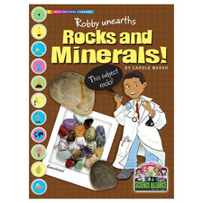 Science Alliance: Robby Unearths Rocks and Minerals