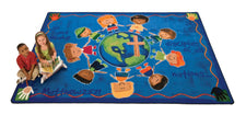 Great Commission KID$ Value PLUS Discount Seating Rug, 8' x 12' Rectangle