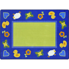 "Green Space™ Classroom Carpet, 3'10"" x 5'4"" Rectangle"