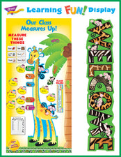 Measurement and Growth Chart Welcome Bulletin Board Idea