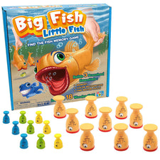 Big Fish, Little Fish: Find the Fish Memory Game