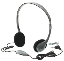 HamiltonBuhl SchoolMate™ On-Ear Stereo Headphone with in-line Volume