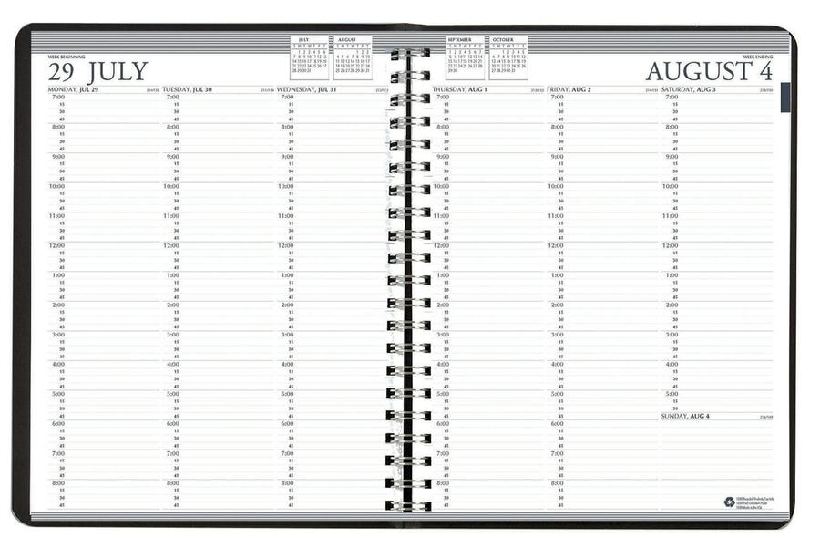 Academic Professional Weekly Planner 12 Months Aug-July