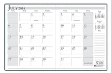 Academic Monthly Planner 14 Months July-August