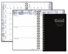 Academic Weekly Assignment Book Black