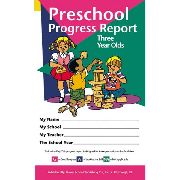 Preschool Progress Report (3 Year Olds)