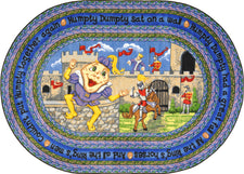 "Humpty Dumpty© Kid's Play Room Rug, 5'4""  Round"