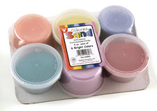 Craft Sand: Bucket O' Sand, 6 Assorted Colors