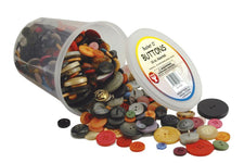 Bucket O`Buttons, 16 Oz Assorted