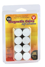 Self-Adhesive Magnetic Coins