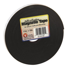 "Magnetic Strips, .5"" x 25'"
