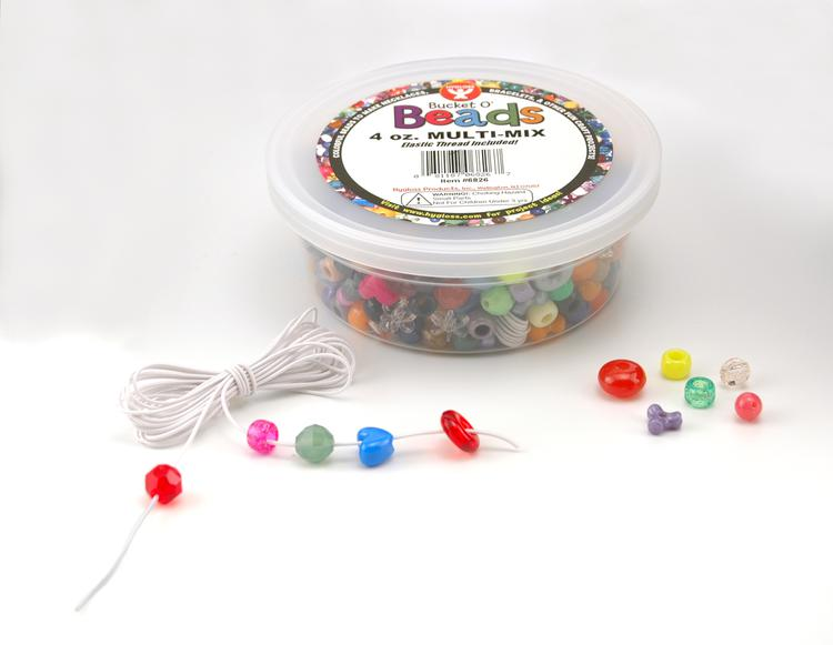 Bucket O` Beads, 4 Oz Multi-Mix