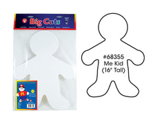 "Big Cut-Outs, 16"" Me Kid"