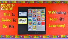 iPad Back To School Bulletin Board Idea