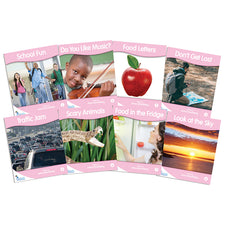 Fantail Books: Pink Non-Fiction Banded Readers, Levels A-B