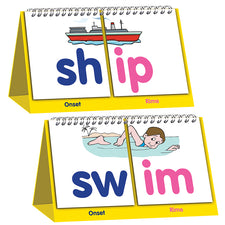 Double-sided Flip Stand: Word Building Flip