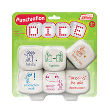 Junior Learning Punctuation Dice
