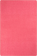 Just Kidding™ Hot Pink Classroom Rug, 12' x 8' Rectangle