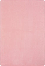 Just Kidding™ Pale Pink Classroom Rug, 12' x 8' Rectangle