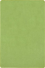 Just Kidding™ Lime Green Classroom Rug, 6' x 9' Rectangle