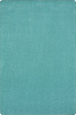 Just Kidding™ Seafoam Classroom Rug, 12' x 8' Rectangle