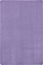 Just Kidding™ Very Violet Classroom Rug, 4' x 6' Rectangle