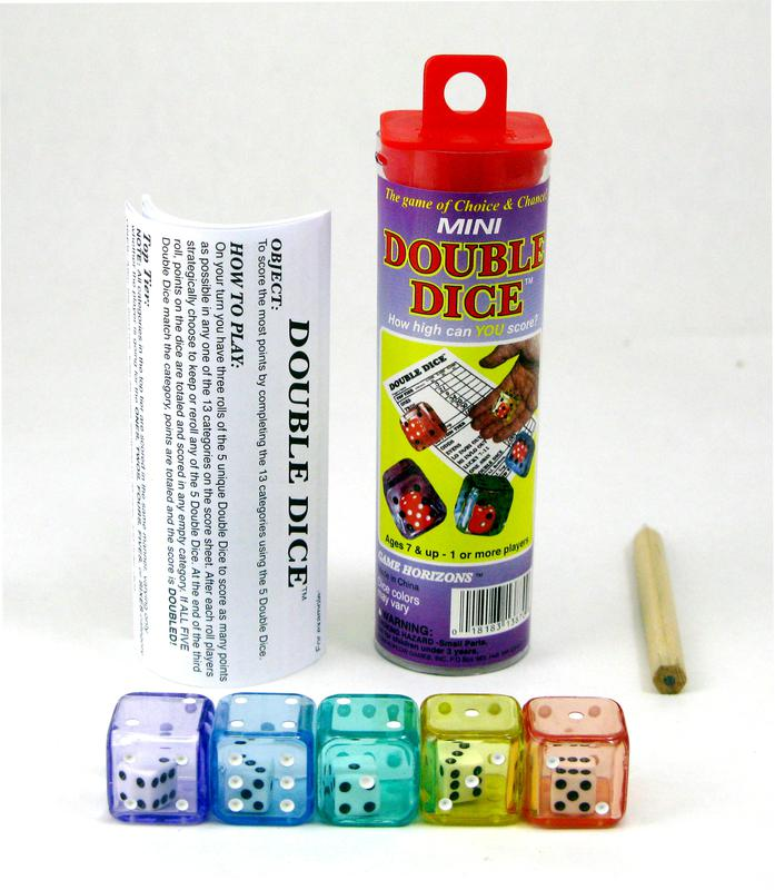 Double Dice, Single Game