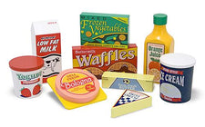 Fridge Food Set, Wooden Play Food