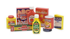 Dry Goods Pantry Set, Wooden Play Food
