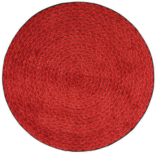 "Legacy© Classroom Rug, 5'4""  Round Red"