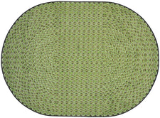 "Legacy© Classroom Rug, 5'4""  Round Sage"