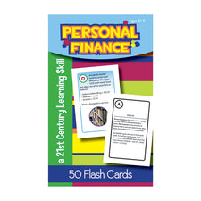 Personal Finance Flash Cards, Ages 10-11