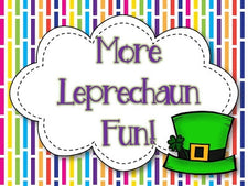 Leprechaun Fun for St. Patrick's Day!