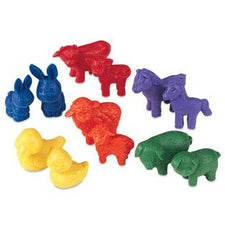 Friendly Farm® Animal Counters, Set of 144