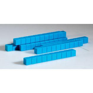 Plastic Base Ten Rods, Set of 50