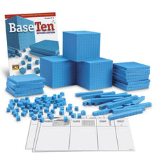 Plastic Base Ten Class Set