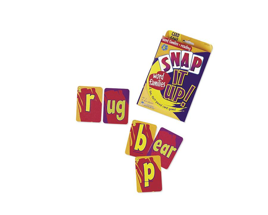 Snap It Up!® Phonics & Reading Card Game