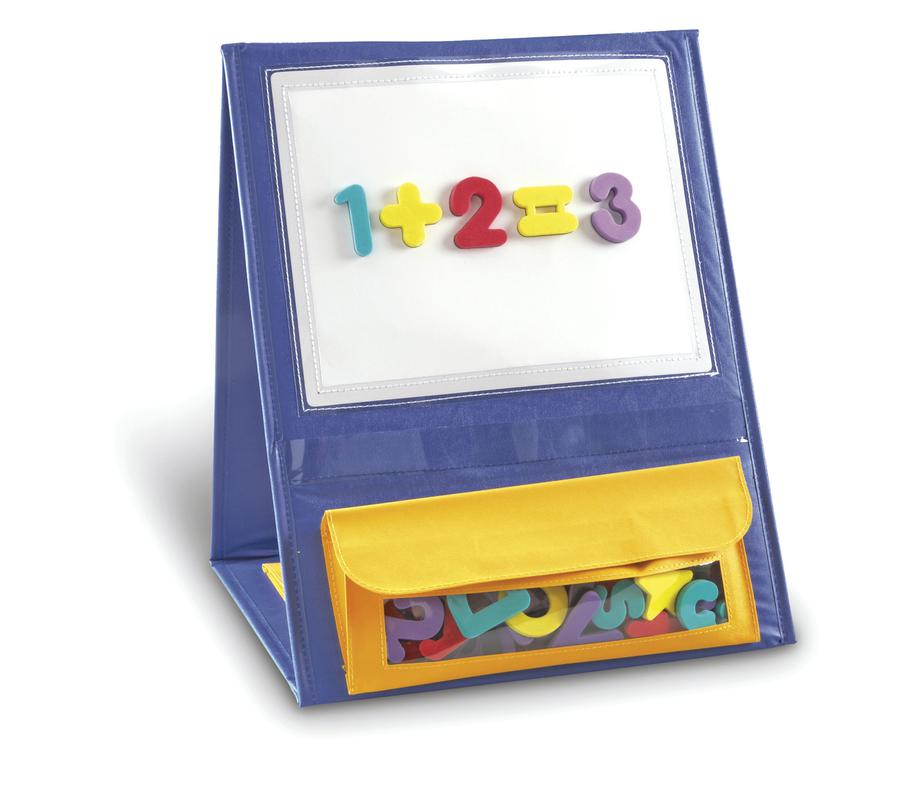 Magnetic Tabletop Pocket Chart Each Ler7191 Supplyme