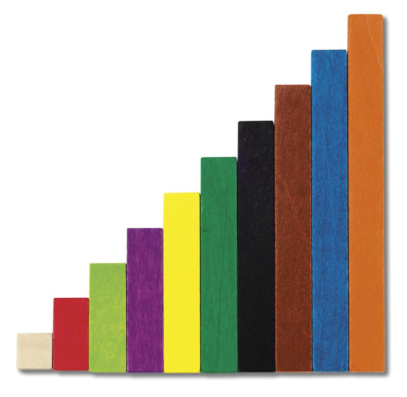 Cuisenaire® Rods Introductory Set: Plastic