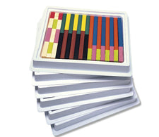 Cuisenaire® Rods Multi-Pack: Plastic