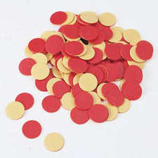 Two-Color Counters, Yellow & Red