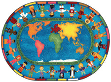 "Let the Children Come© Sunday School Rug, 7'8"" x 10'9"" Rectangle"