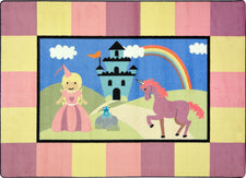 "Lil' Princess© Classroom Rug, 5'4"" x 7'8"" Rectangle"
