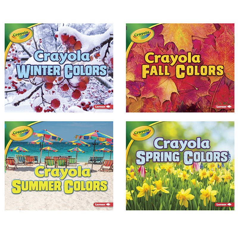Crayola Seasons, Set of 4 Books