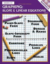 Graphing: Slope & Linear Equations Reproducible Book
